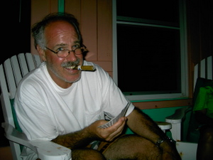 Chef Gary on vacation in Belize